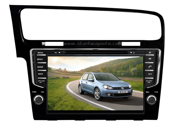 VW Golf 7 DVD 2013