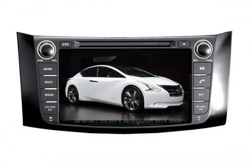 NISSAN Sylphy DVD